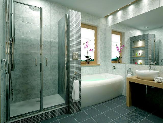 Дизайн большой ванной комнаты от Ravak