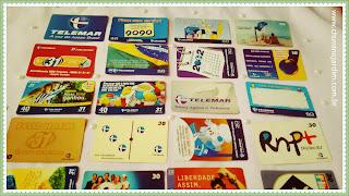 coleção cartões