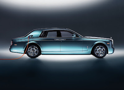 2011 Rolls-Royce 102EX Electric Concept Wallpaper