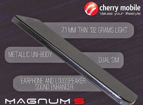 Cherry Mobile Magnum S Now Available For Php9,999