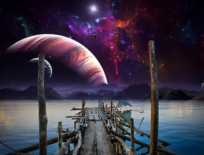 Más allá de las estrellas (Una mirada desde el puerto)
