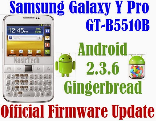 If your Galaxy Y Pro already running on Android 2.3.6 GB , you can