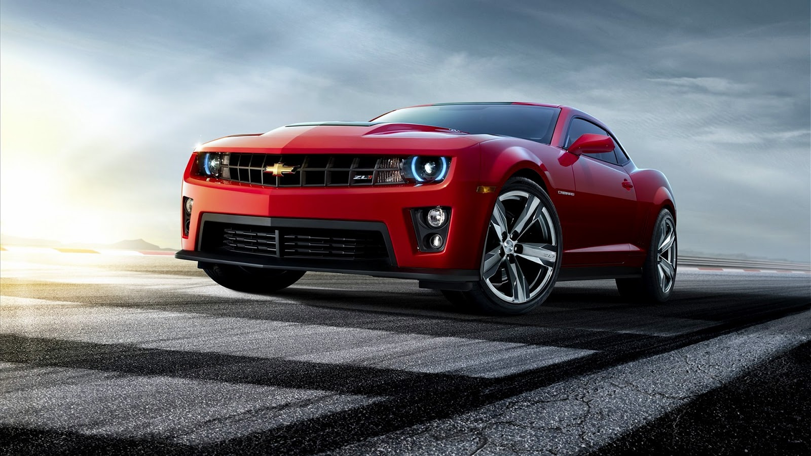 estesimbolo  Chevrolet Camaro ZL1 Red HD Wallpaper