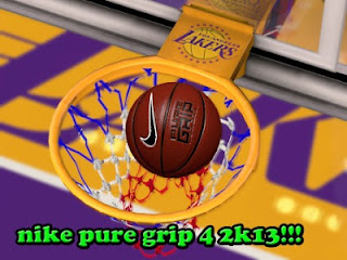 NBA 2K13 Nike Pure Grip Ball Mod
