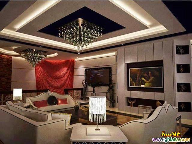for Plafond platre moderne pour salon