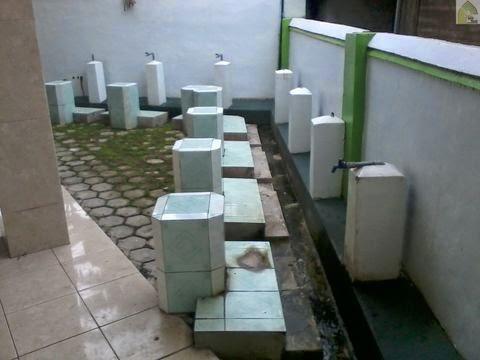 tempat duduk wudhu