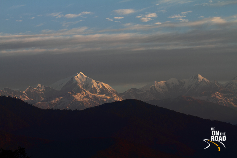 Sunrise over the Himalayas in Eaglenest