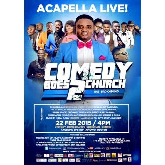 Comedy Goes To Church
