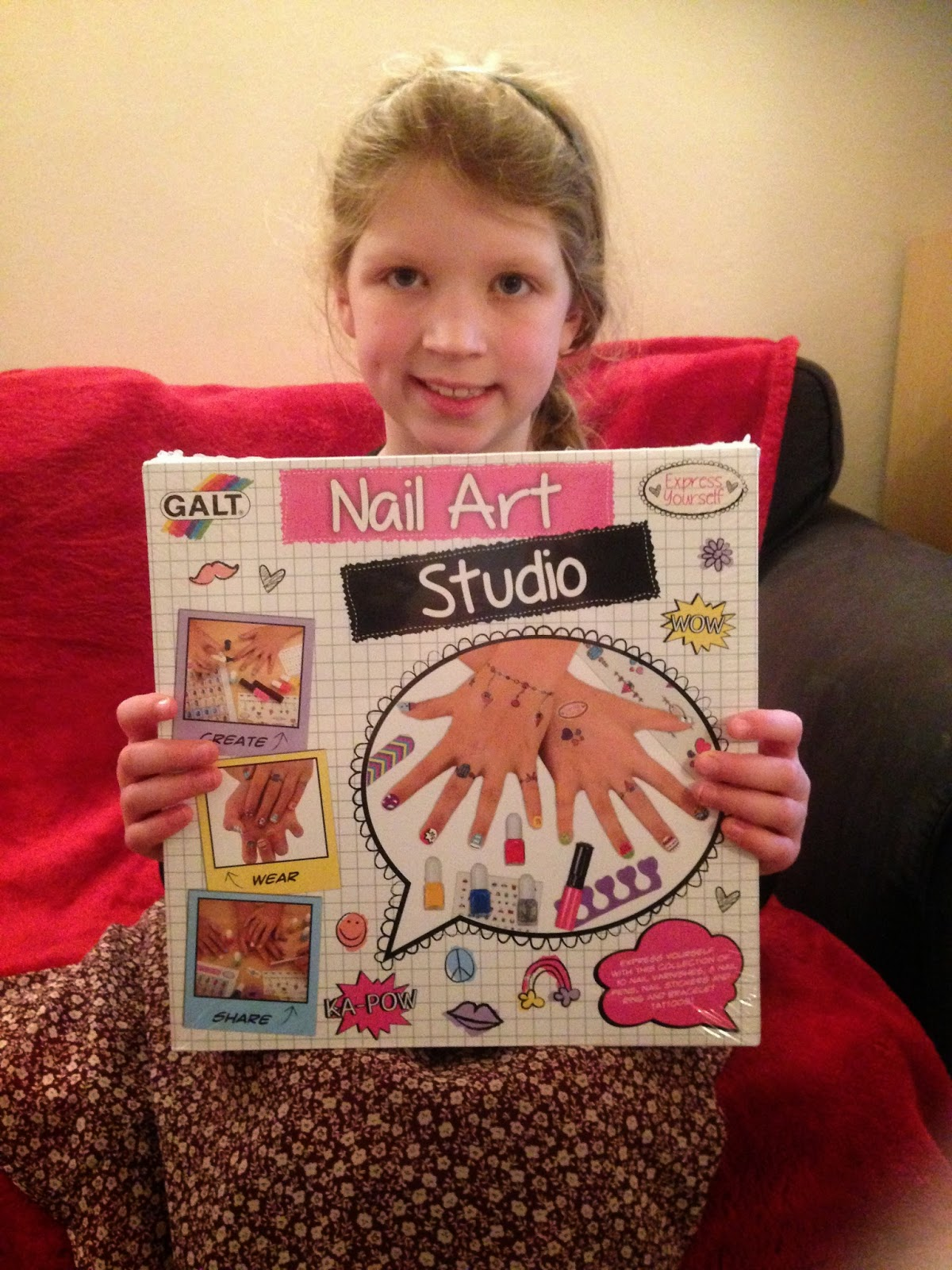 The Adventures Of Betsy Lou Galt Toys Nail Art Studio Review