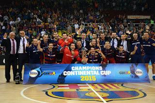 HOCKEY PATINES - Remontada en el Palau y la Copa Continental se la queda el Barça