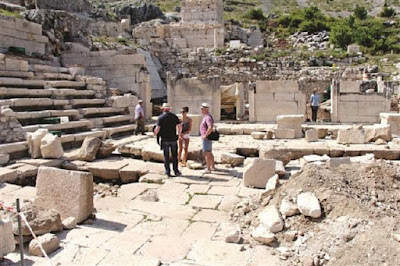 Ancient cold storage depot found in Sagalassos