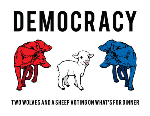 What are examples of democracy?