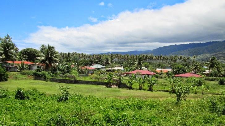 Quartier résidentiel à Taravao