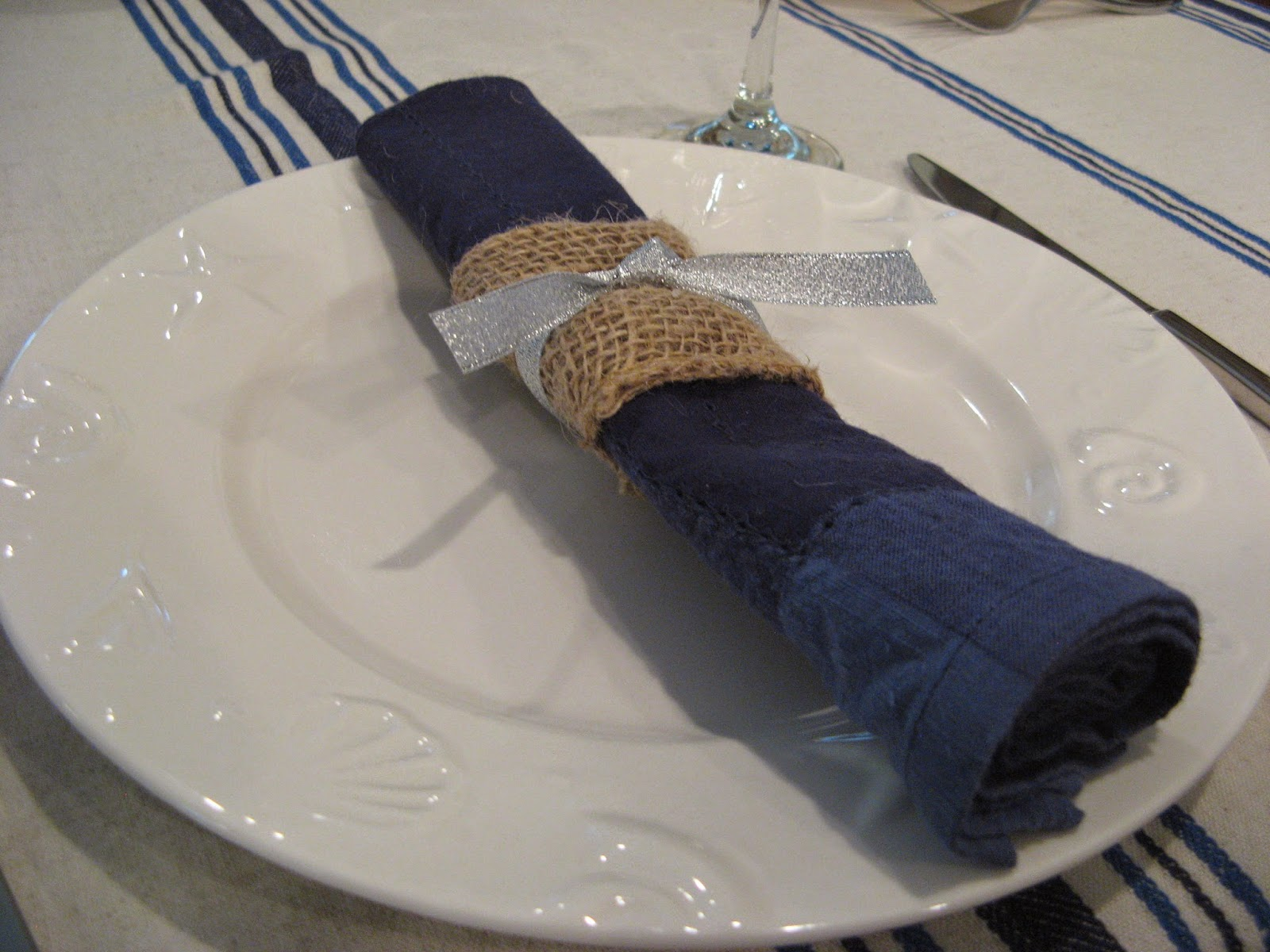 Beach Cottage Christmas - Napkin Ring