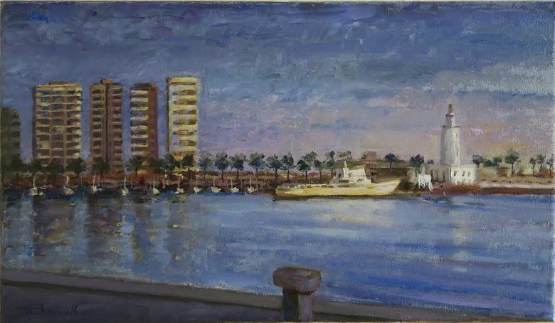 La Sultana en el puerto de Málaga (8M)