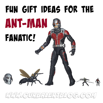 Fun Gift Ideas for the Ant-Man Fanatic: Shopping made easy by Curb Alert!
