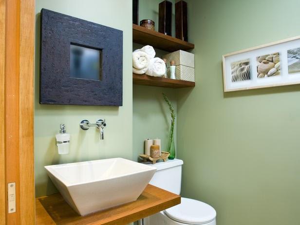 lavabo decoracao barata: Achados de Decoração: BANHEIROS DECORADOS COMO SE FOSSEM LAVABOS