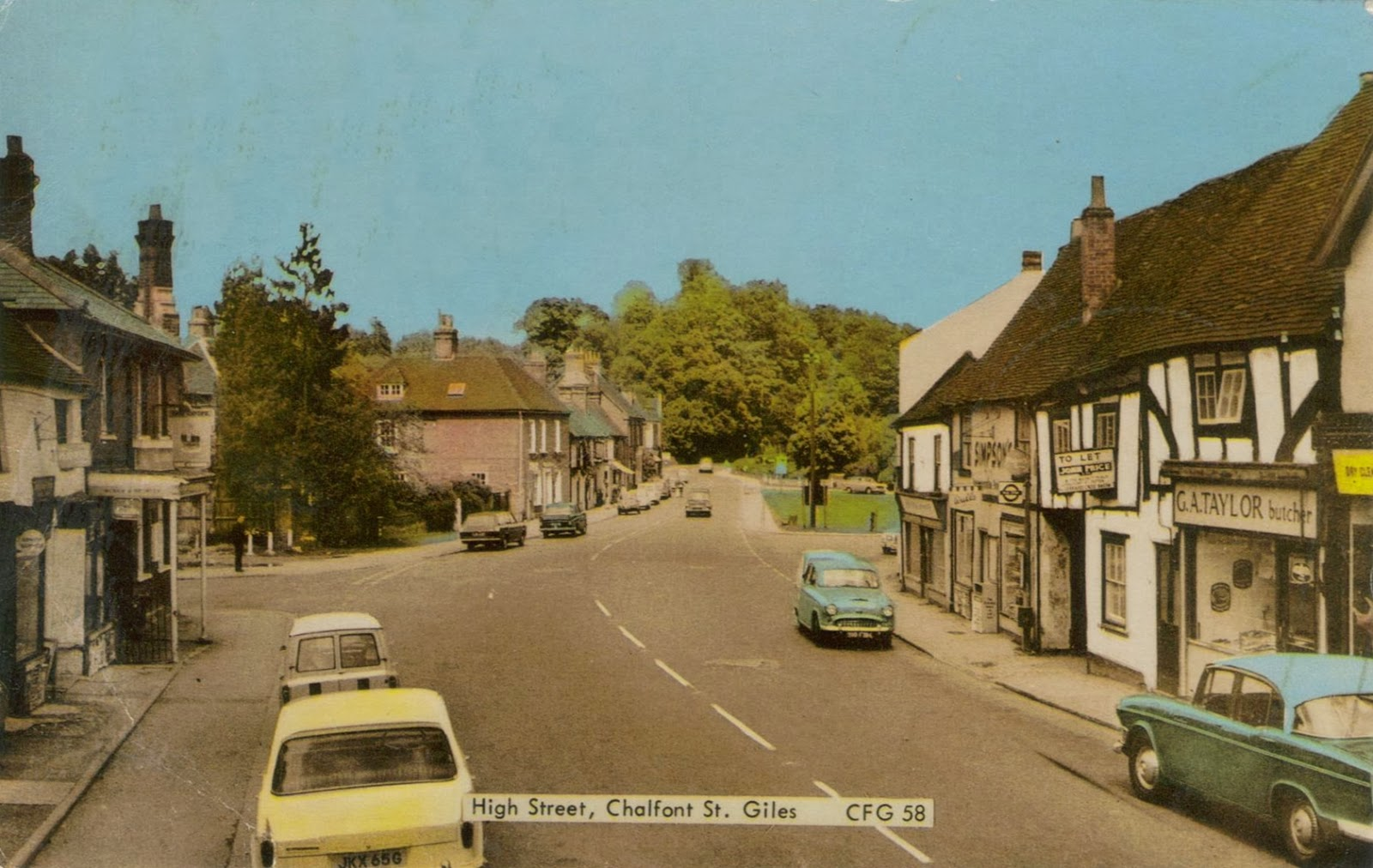 Chalfont St Giles High Street 1960s