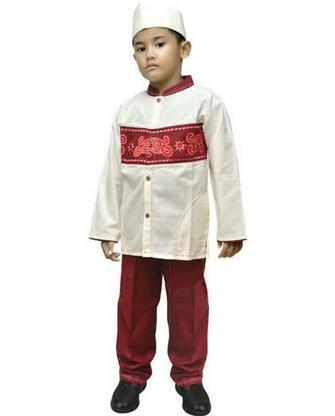 Model Baju Koko Muslim Anak Laki Laki