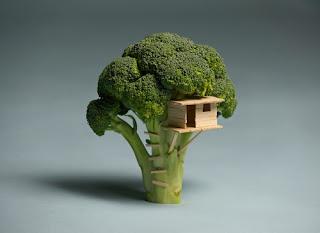 Image: broccoli treehouse