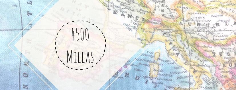 4,500 Millas