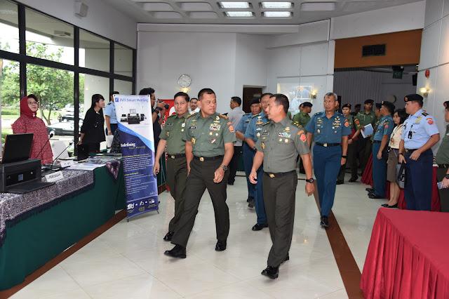 Panglima TNI : Penerangan TNI Penjuru Terdepan Mempublikasikan Kinerja TNI