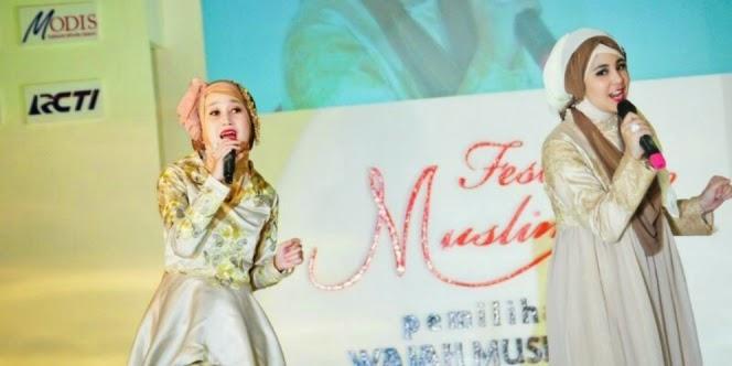 Duo Hijaber Cantik Risty Tagor dan Echa Keluarkan Album Baru