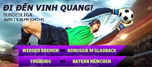 Kèo thơm cá cược Freiburg vs Bayern Munich