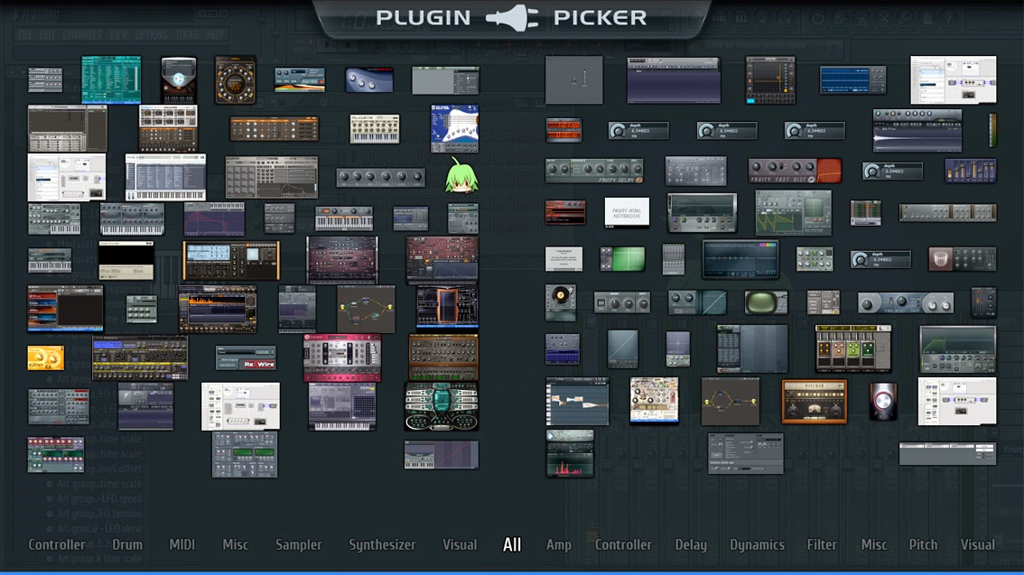 fl studio 11 all plugins bundle