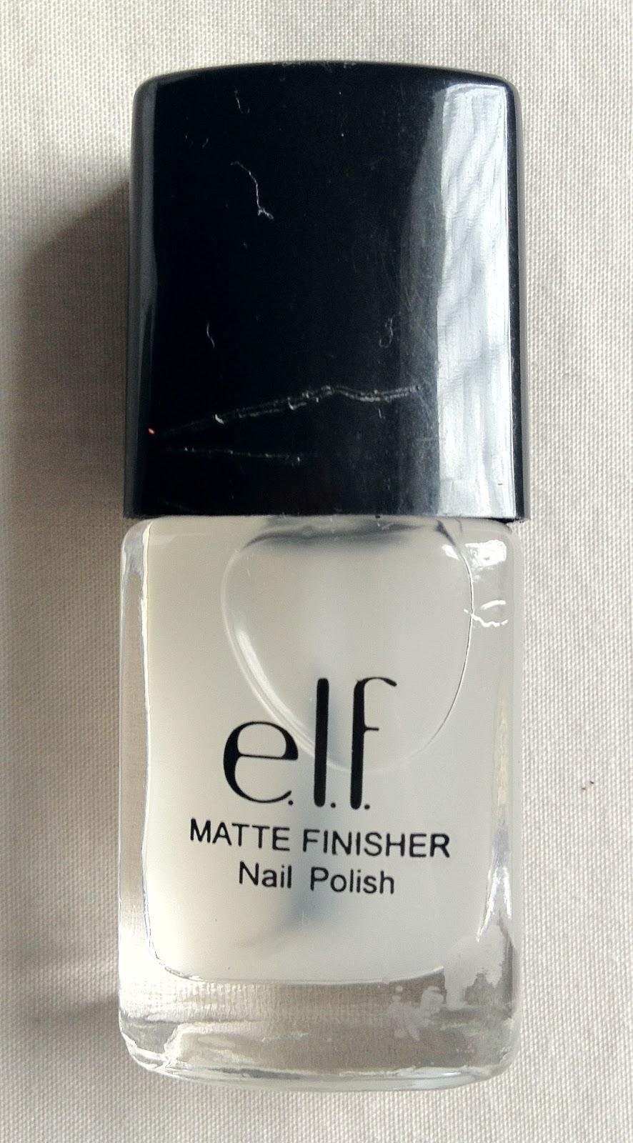 Secrets of a Wannabe Charlotte: E.L.F.\'s Mattifying Nail Polish: A ...