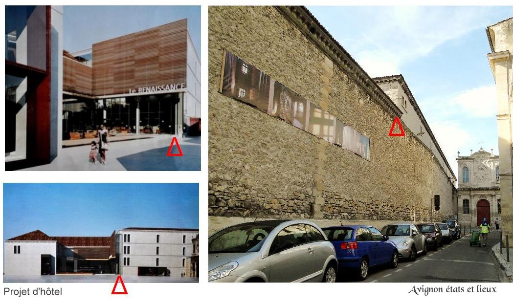 Impressions d 39 avignon projet d 39 h tel renaissance de la for Hotel de chaine