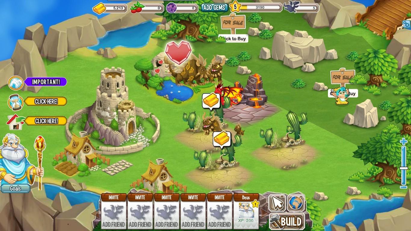dragon city para Fcaebook