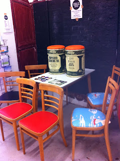 vintage chairs restored by The Chair Man