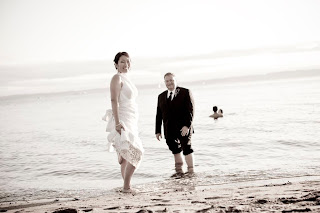 Todd & Elan at Golden Gardens - Patricia Stimac, Seattle Wedding Officiant