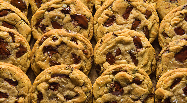 ... featured pastry chef Jacques Torres's ultimate chocolate chip cookies