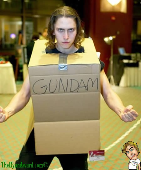 Awesome Gundam Costume