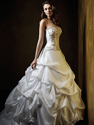 Beautiful White Wedding Dresses Photos