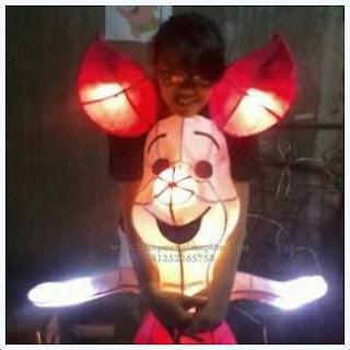 Lampion Piglet