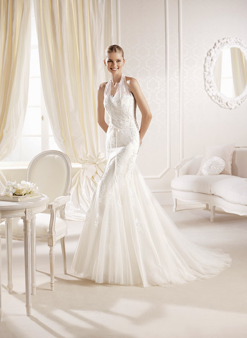 Idalie La Sposa wedding dress bridal 2014