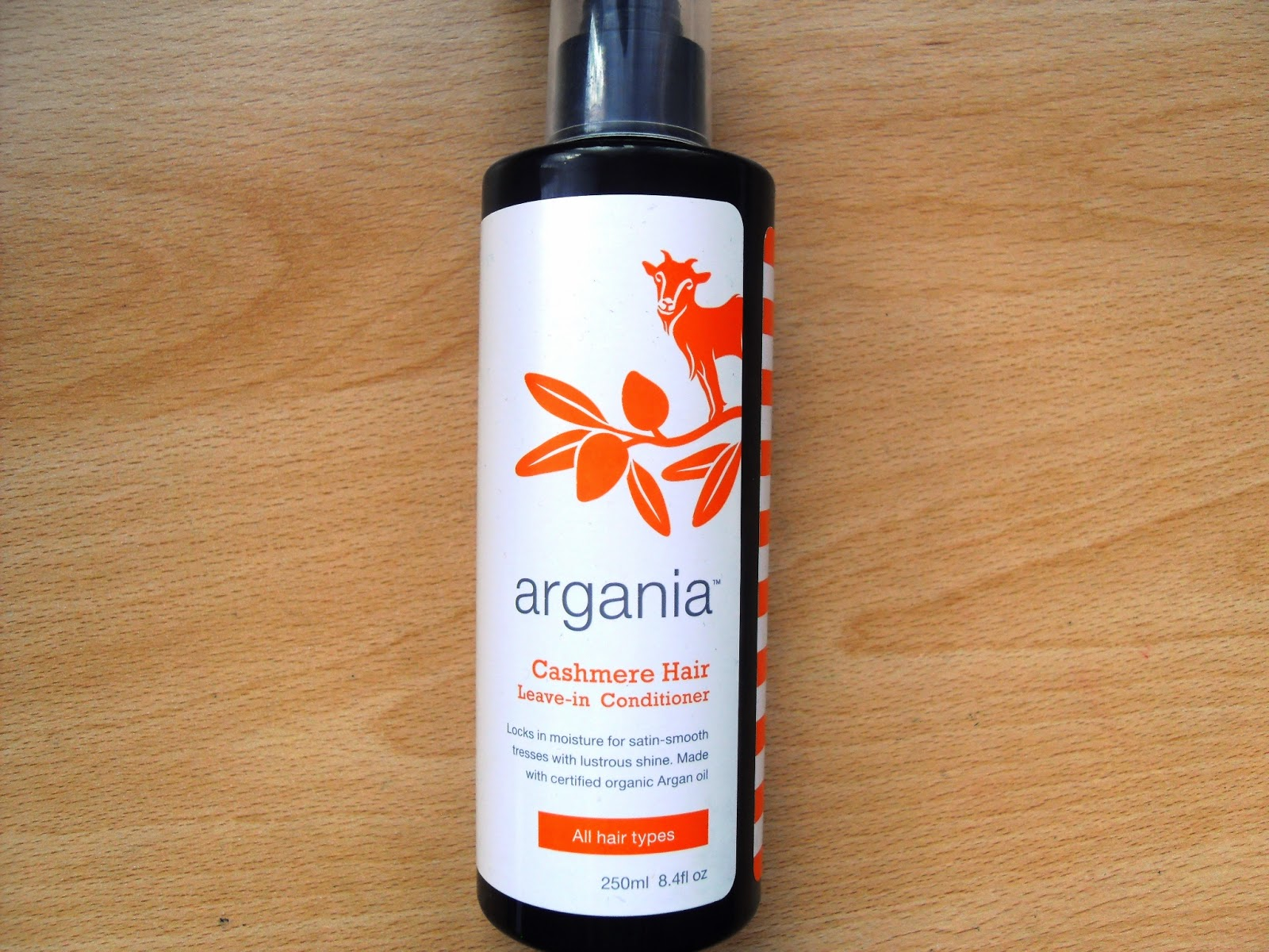 Argania Cashmere Hair Leave-in Conditioner Review