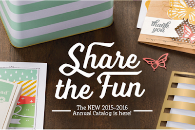 2015-2016 Annual Stampin Up Catalog