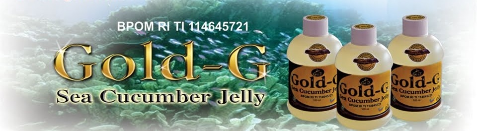 Distributor Resmi Jelly Gamat Gold G