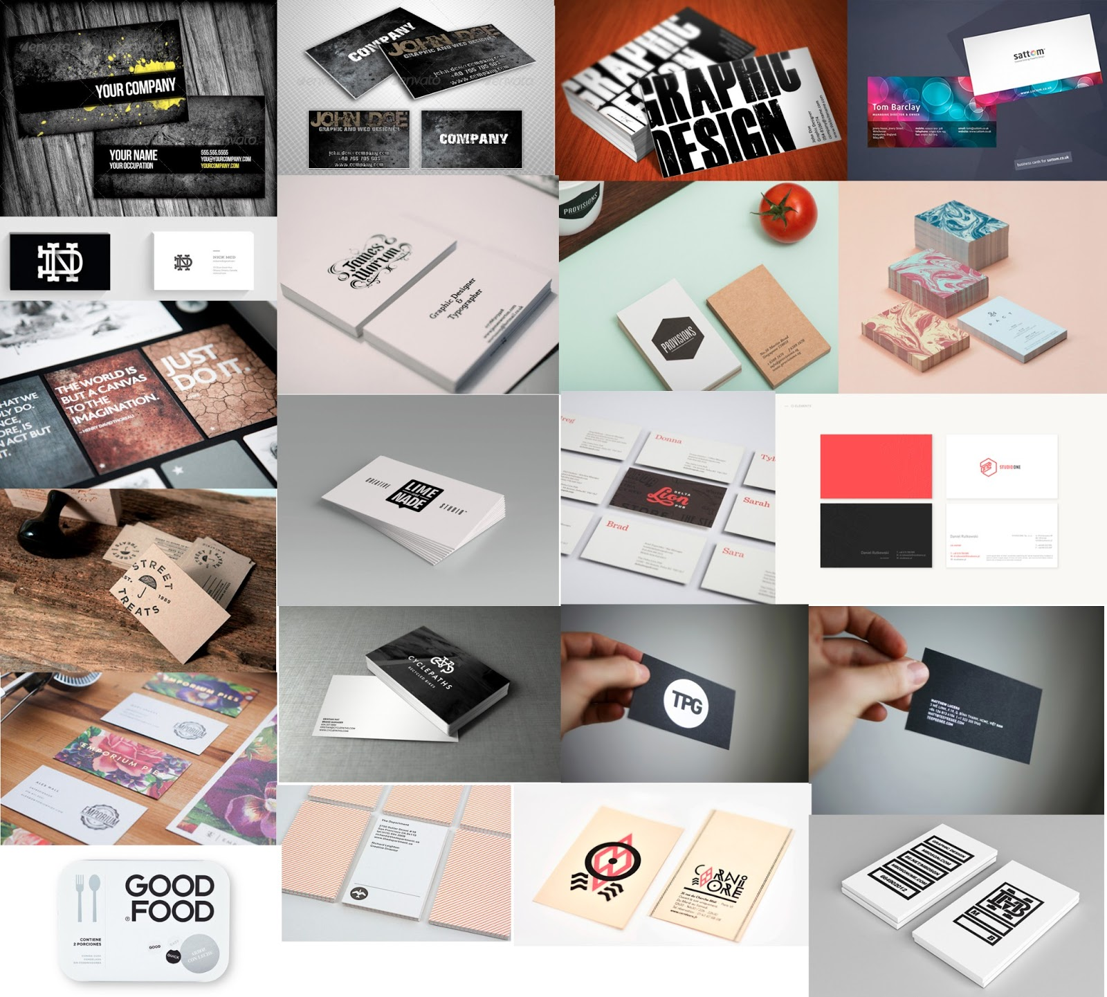 Liz Owen - Graphic Design and Illustration: Business Card Research