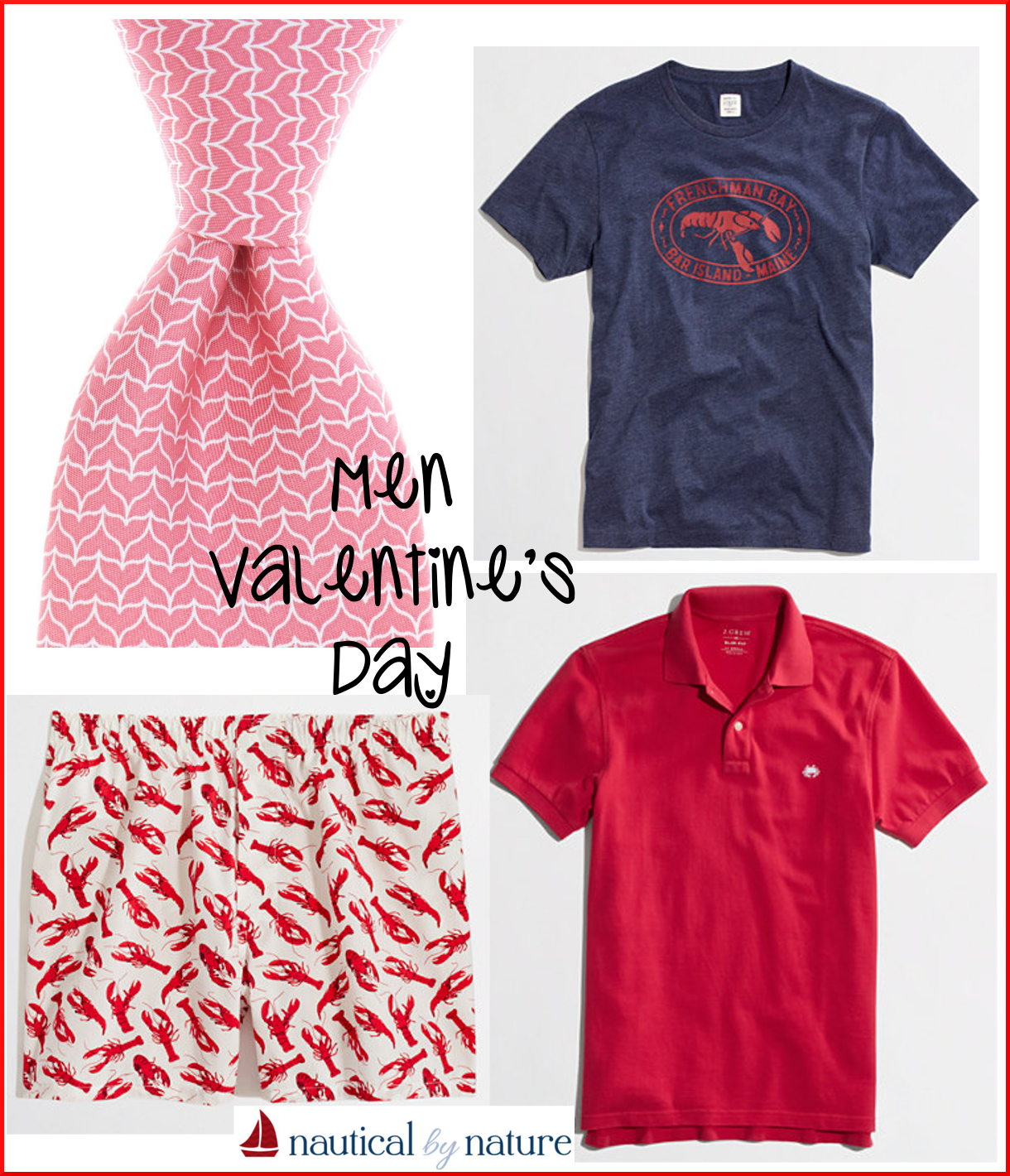 Nautical by Nature | Nautical Valentine's Day outfit ideas for men