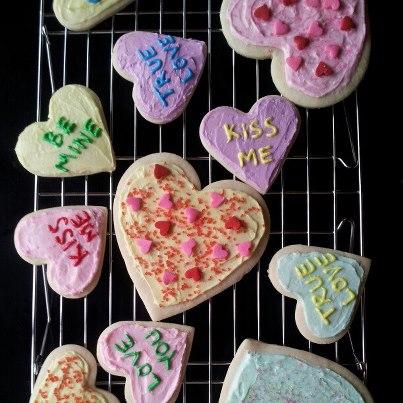 Valentine S Day Sugar Cookie Decorating Snacking In The Kitchen