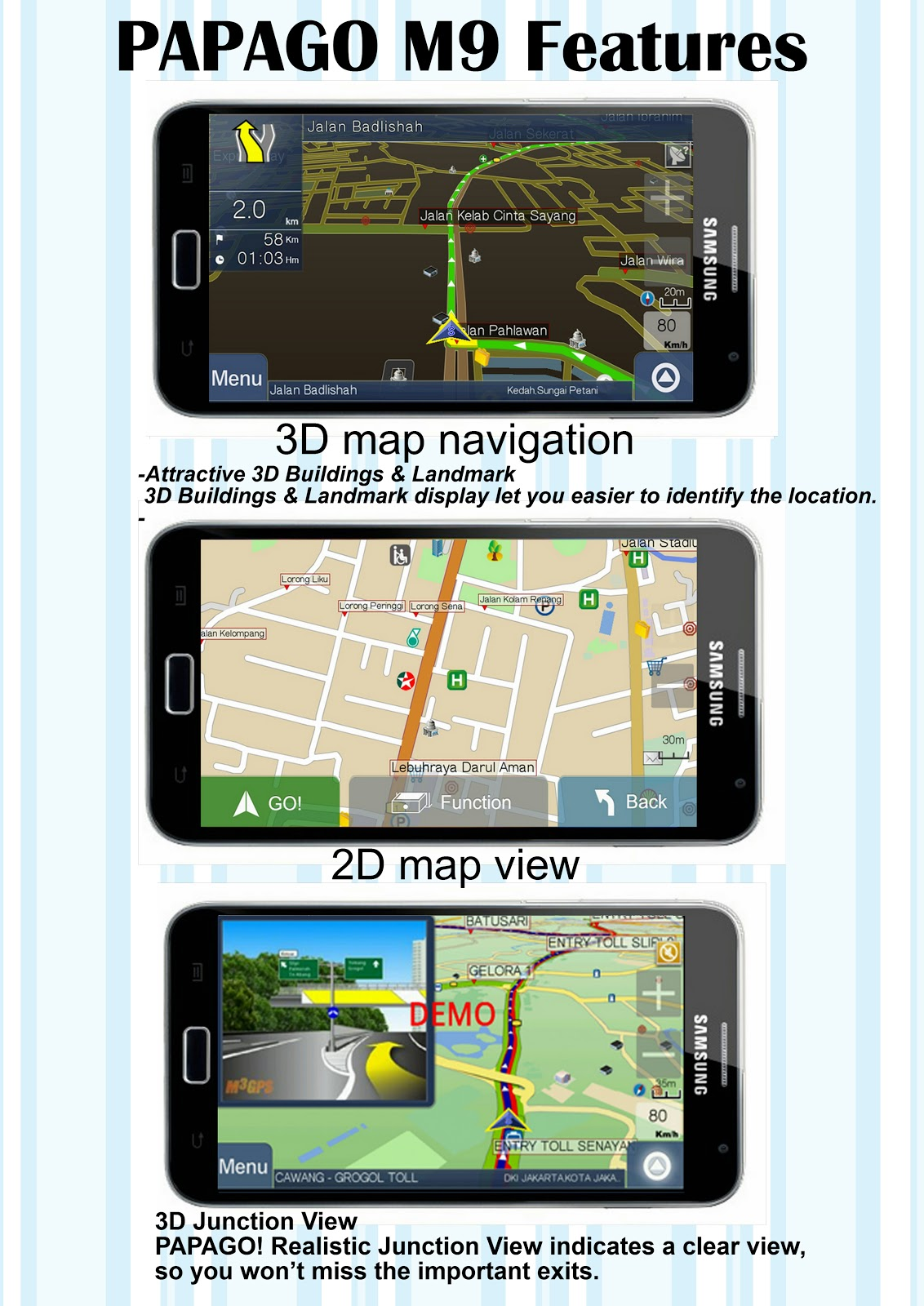 GPS and FILE: PAPAGO M9 GPS with RAR PASSWORD