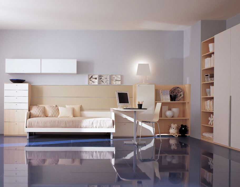 New home design ideas teen bedroom designs modern space for Teen bedroom storage