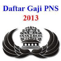 Tabel Gaji PNS 2013