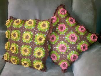 Květinové polštářky