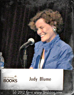 Judy Blume LAT Festival of Books 2012